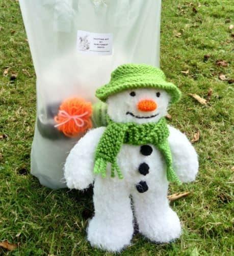 snowman-teddy