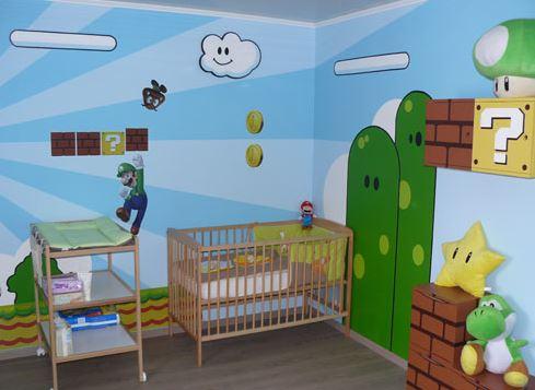 Mario Bros Bedroom Ideas!