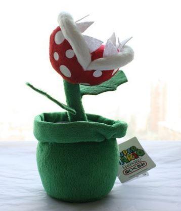 mario bros plant plush