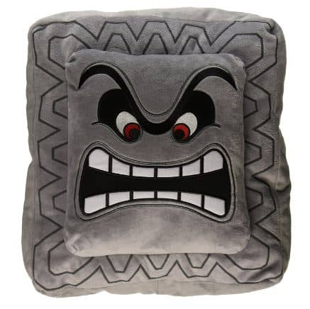 mario bros thwamp cushion.