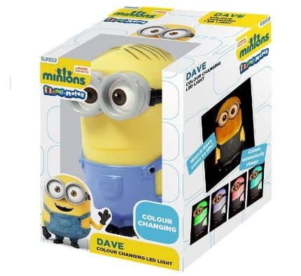 minions colour changing light
