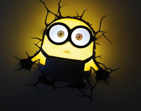 minions wall light