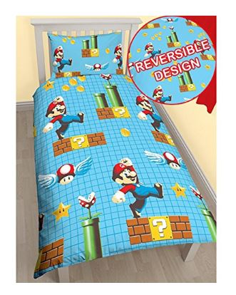super mario bros duvet, bedding set.