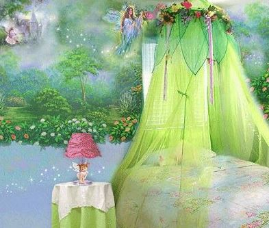 Fairy bedroom ideas, fairy bedroom canopy!