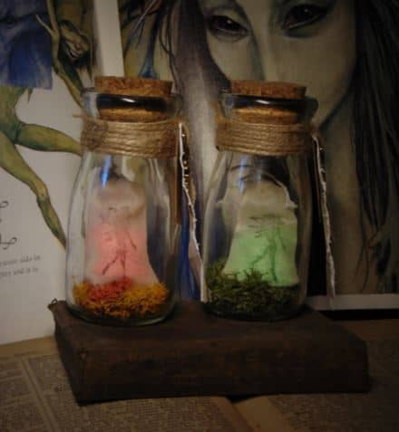 fairy dust jar light.