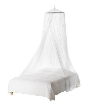 mosquito bed netting canopy, for fairy bedroom.