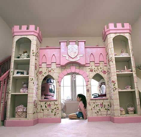 princess custom bed