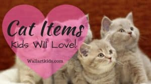 10 Decorative Cat Items, Fun For Kids Rooms!