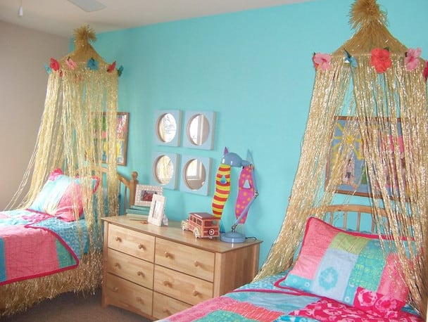 beach themed inspiration room decor.