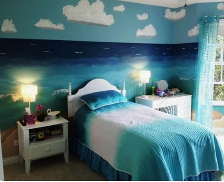 beach themed bedroom ideas, beach themed room decor.
