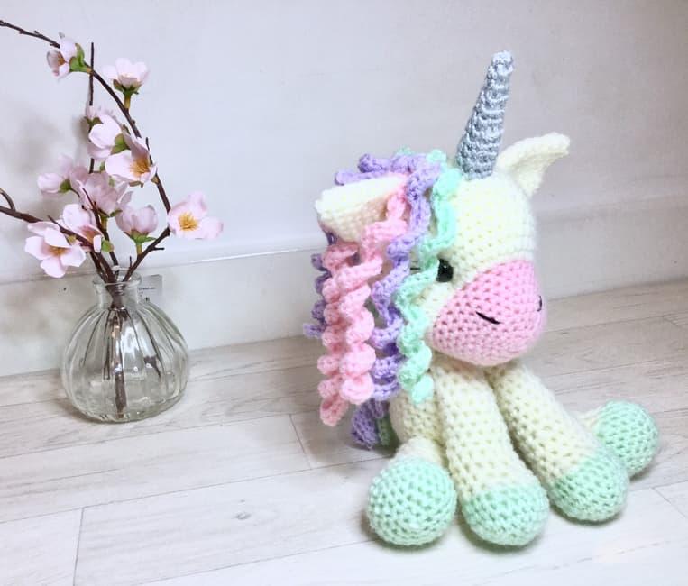 unicorn cuddly toy!