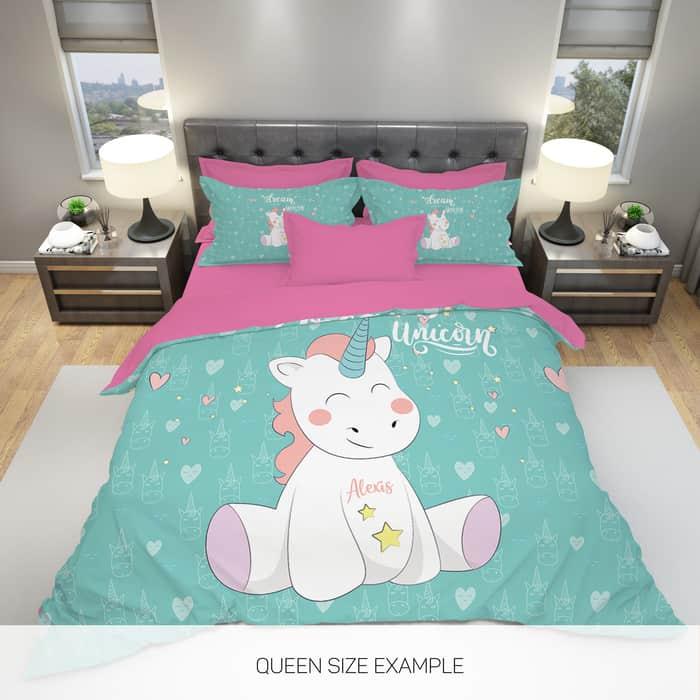 Unicorn Duvet And Bed Set!