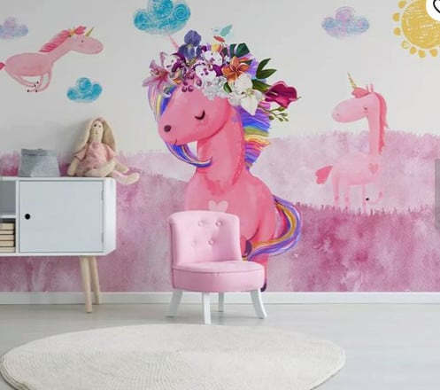 Unicorn Wallpaper On Etsy!