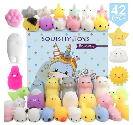 squishy toy selection