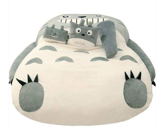 Totoro bed kawaii